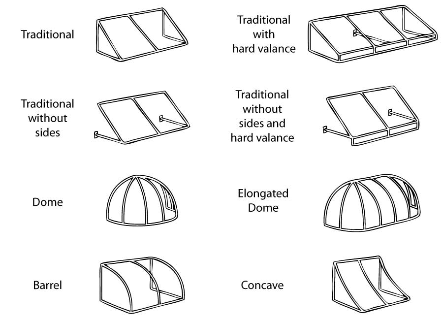 awning styles1